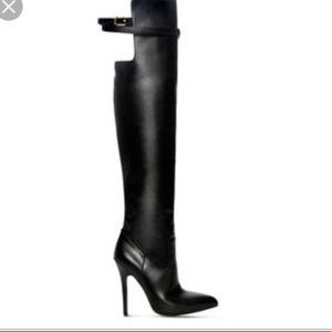 ALTUZARRA For Target Black Over the Knee boots